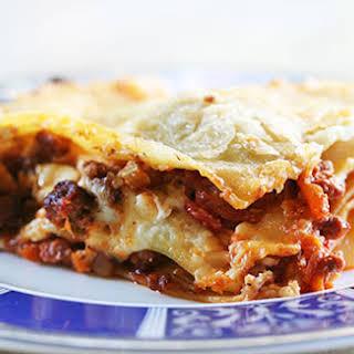 Lasagna Bolognese.