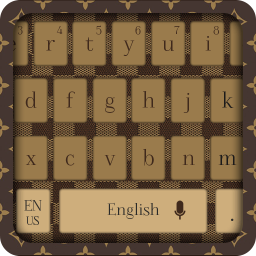 LV Luxury Leather Keyboard Theme icon