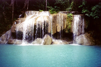 Photo: Erawan waterfall, Kanchanaburi, Thailand