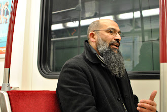 Photo: Now that he is finally able to travel underground, his travel time has been cut by several hours, Mohammad Mahjoub explains.