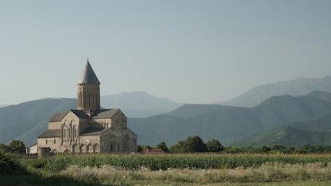 Das Kloster Alawerdi ist erheblich größer als Ikalto oder Nekresi.