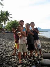 Photo: Kids on the beach at Tinag-an, Albuera, Leyte