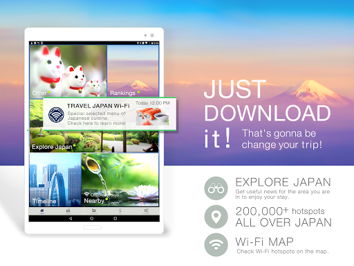 TRAVEL JAPAN Wi-Fi 3.6.6 PC u7528 7