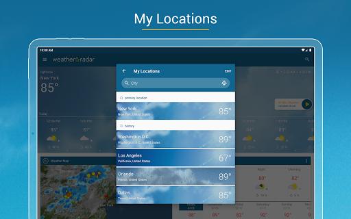 Weather & Radar USA - Severe weather alerts  screenshots 8