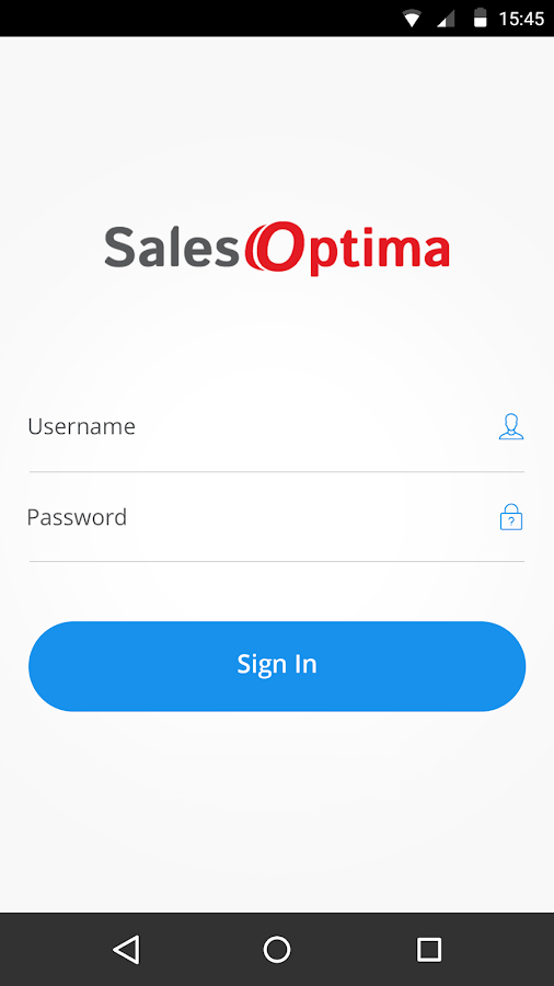 SalesOptima- screenshot