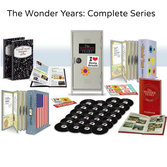 The Wonder Years: Complete Series on DVD with Metal Locker
