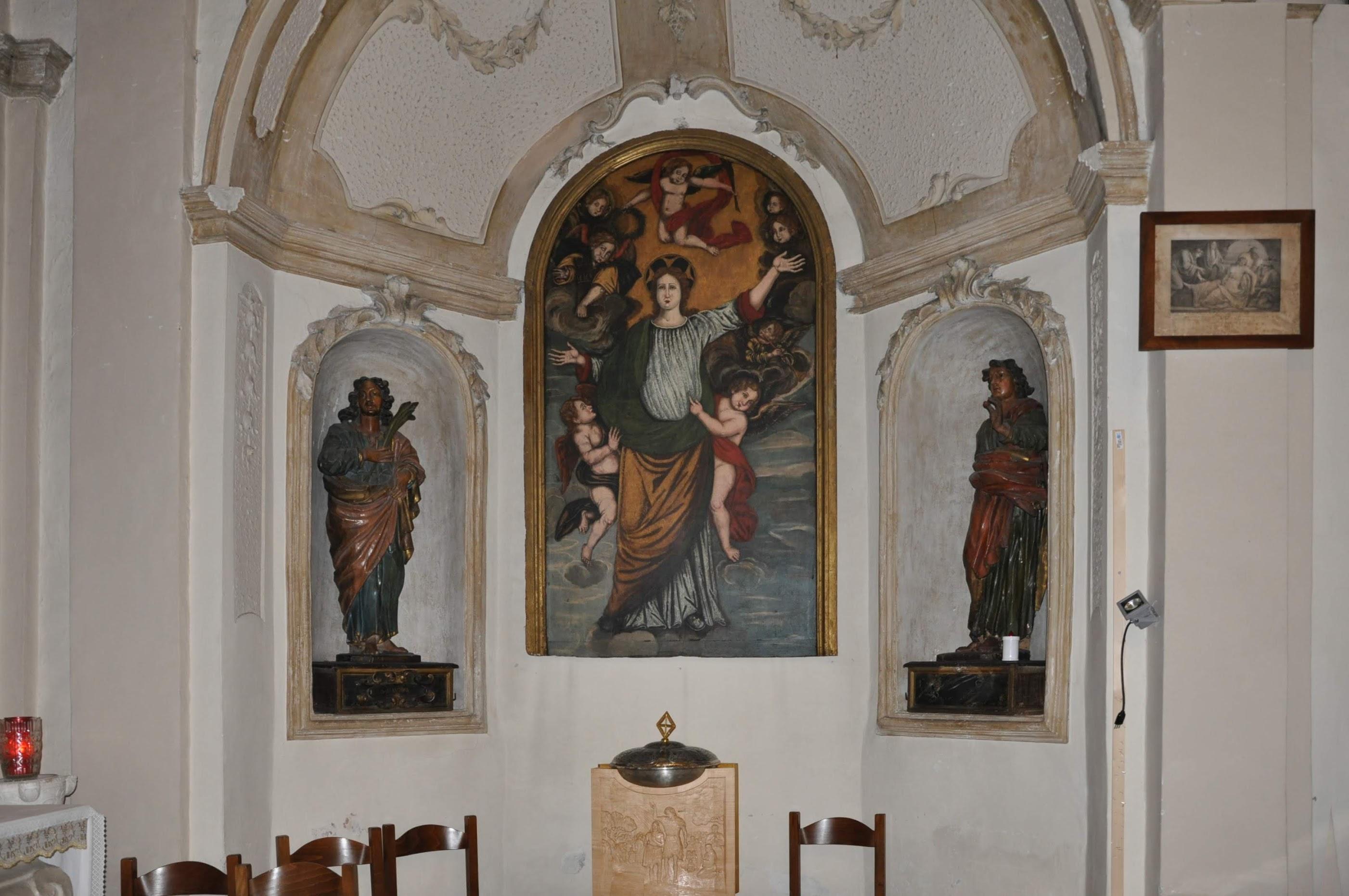 altare dei patroni