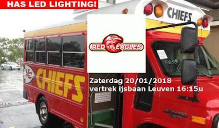 's Hertogenbosch Red eagles - Chiefs Leuven: zaterdag 20/01/2018