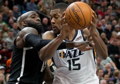 ? NBA: le dunk de Derrick Favors en tête du top 5 de la nuit