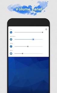 Flux White - Substratum Theme Screenshot