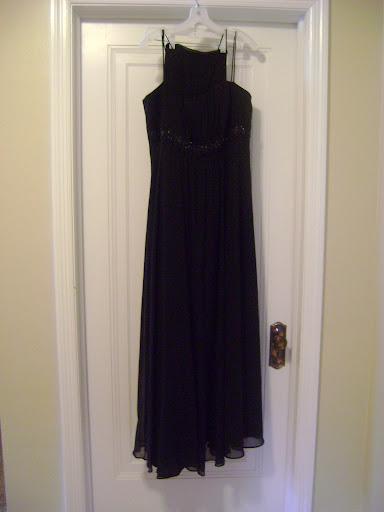 David's-Bridal-black-bridesmaid-dresses