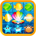 Fish Fantasy Match 3 Free Game icon