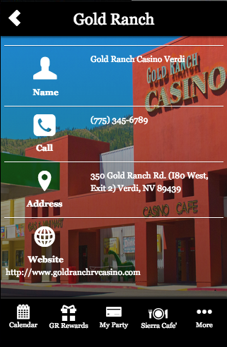 Gold Ranch Casino - Verdi- screenshot