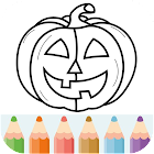 Halloween Coloring & Drawing