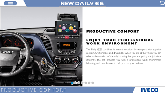 IVECO NEW DAILY E6 phones- screenshot thumbnail