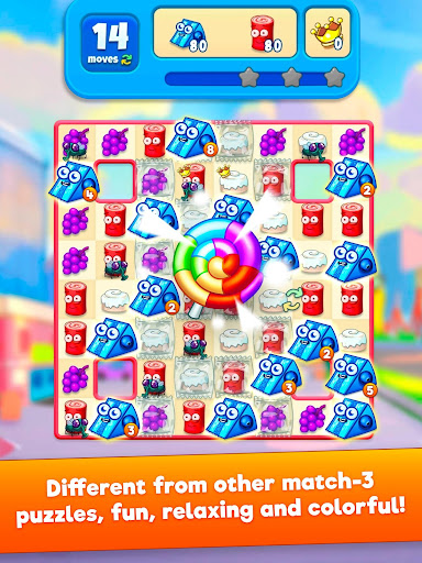 Sugar Heroes - World match 3 game!  screenshots 6