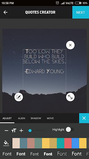 Quotes Creator 2.5.2 screenshots 2