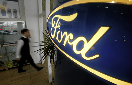 A Ford dealership. Picture: REUTERS