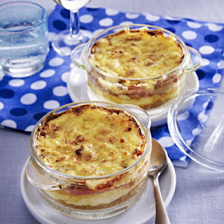 Baked Croque Monsieur Hors d'Oeuvres.
