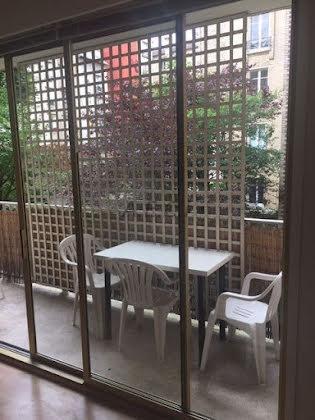 Location appartement meublé 2 pièces 36,95 m2