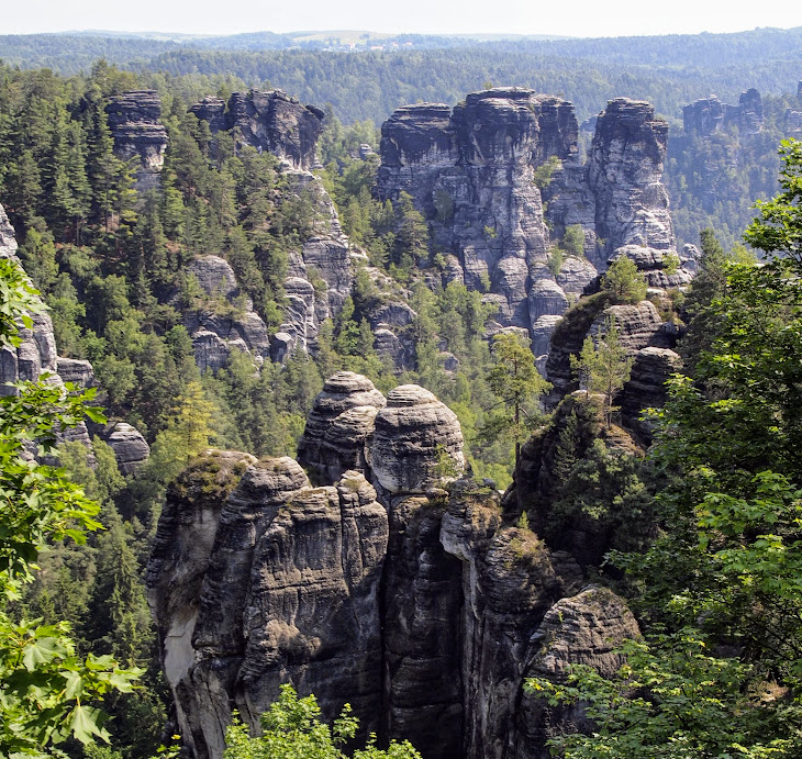 Rock spires of Saxony-Switzerland