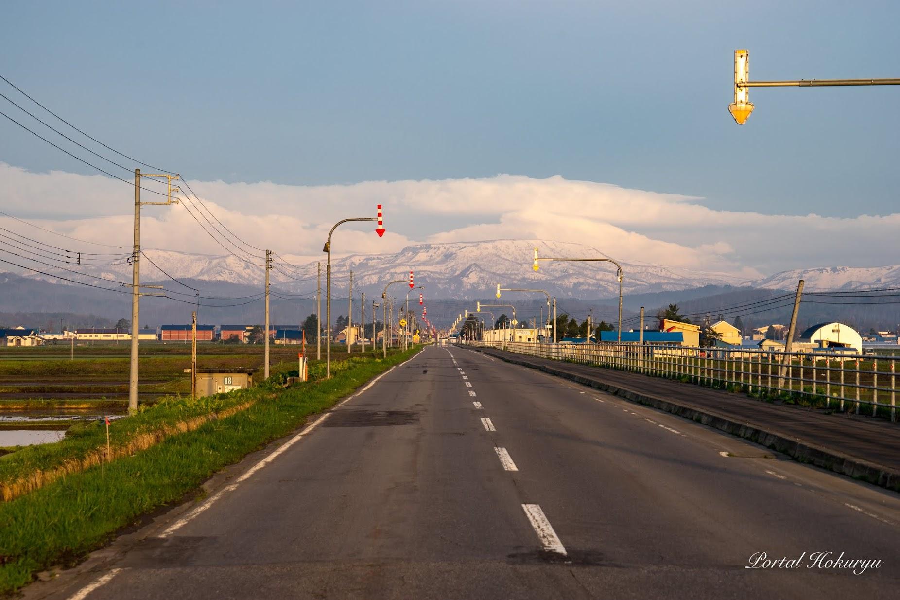 和地区西側の風景