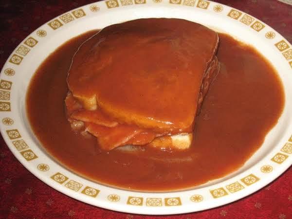 Grandma Busch's Hot Ham Sandwich