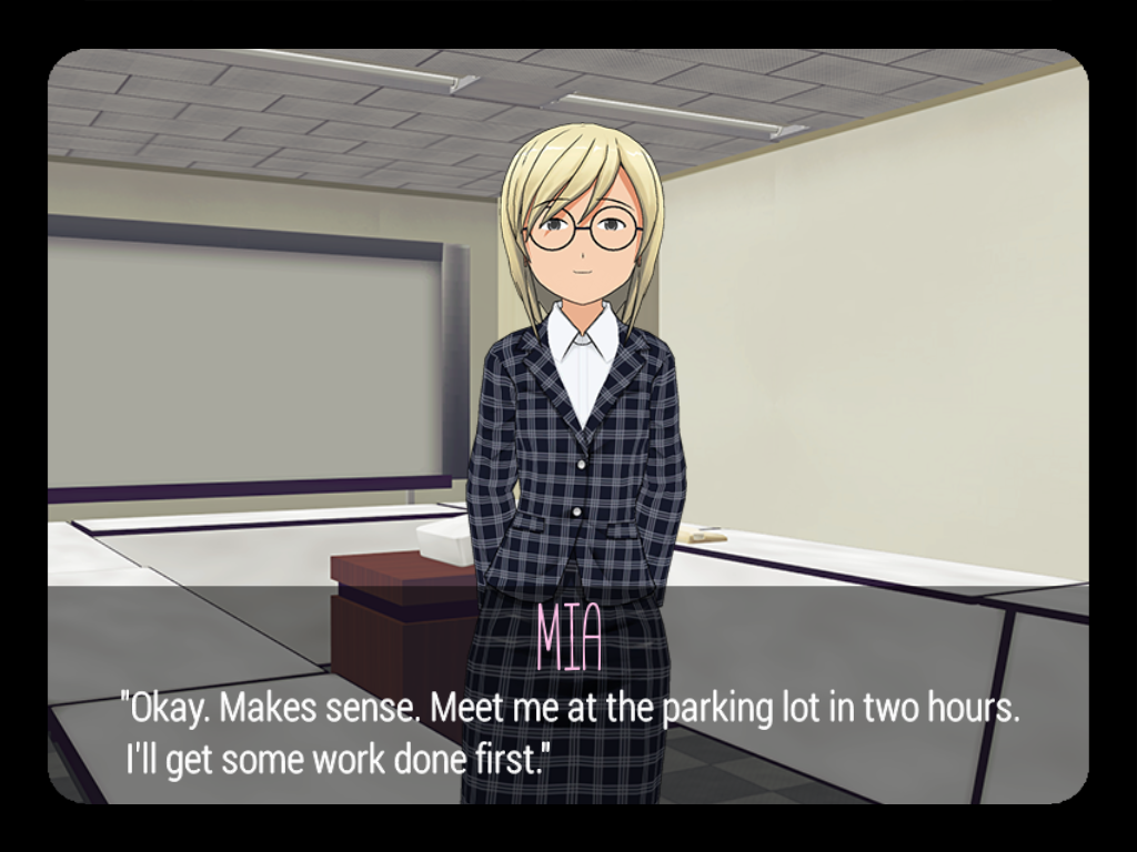 The Last Yandere - Horror Visual Novel Game- screenshot