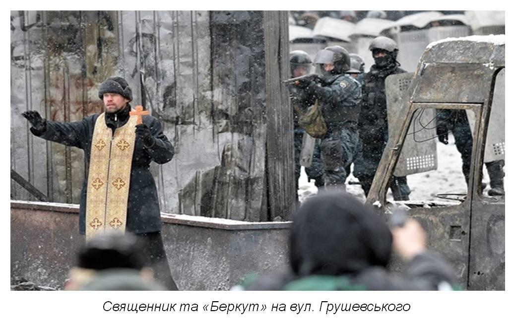 Роль і місце православних церков на Майдані