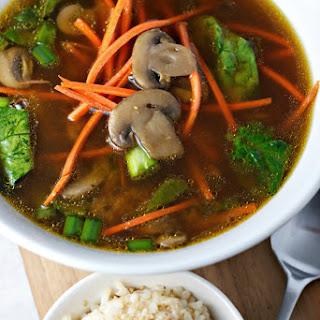 Immunity Boosting Miso Soup