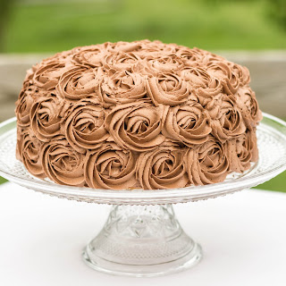 Chocolate Fudge Marble Cake.