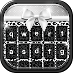Black and White Keyboard Theme