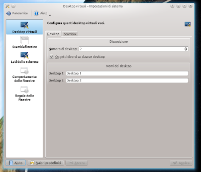 Kubuntu - Inserire Sfondi, Gadget ecc diversi per ogni Desktop!