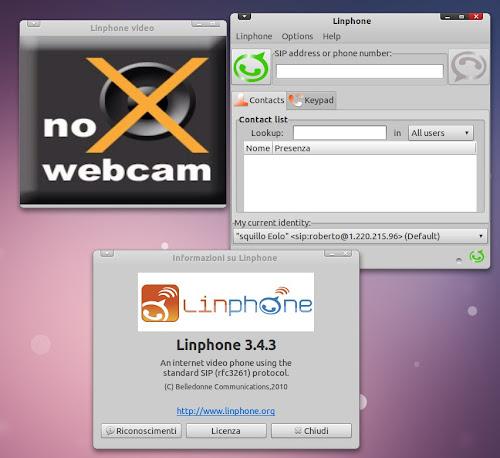 Linphone 3.4.3