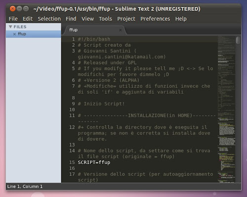 Sublime Text 2 Alpha