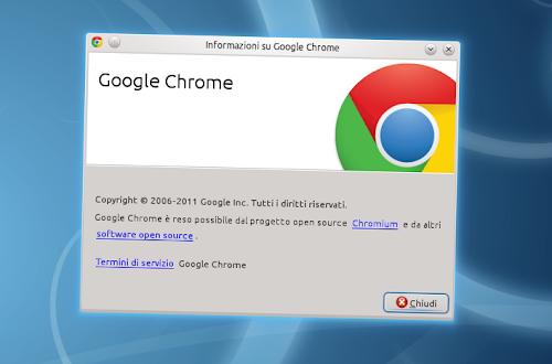 Google Chrome 11 Stabile