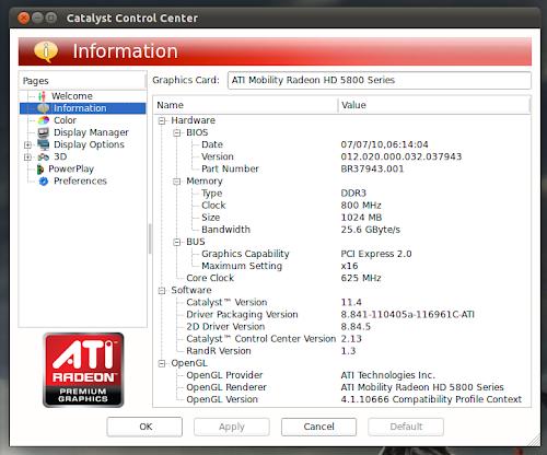 Ati Catalyst 11.4 su Ubuntu