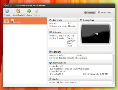 VirtualBox 4.1.20 su Ubuntu