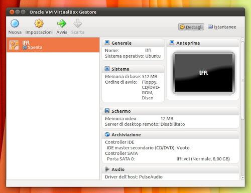 Virtualbox su Ubuntu 12.04 Precise