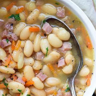 White Bean and Ham Soup.