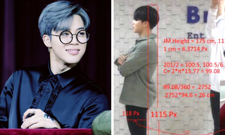 8 of BTS Jimin's Important Measurements   For Scientific Purposes