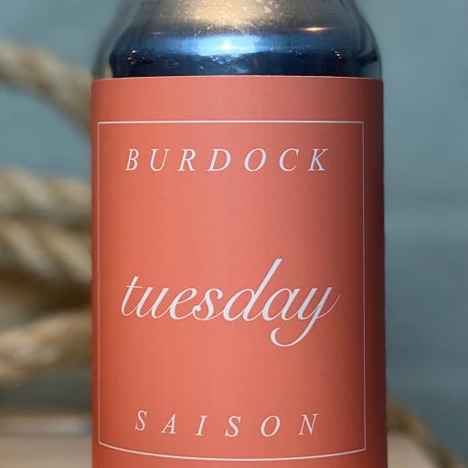 Burdock Brewery Tuesday Saison 355ml can 4PACK