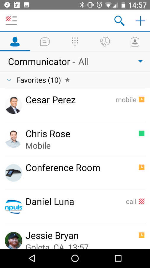 ClearStar Communicator- screenshot