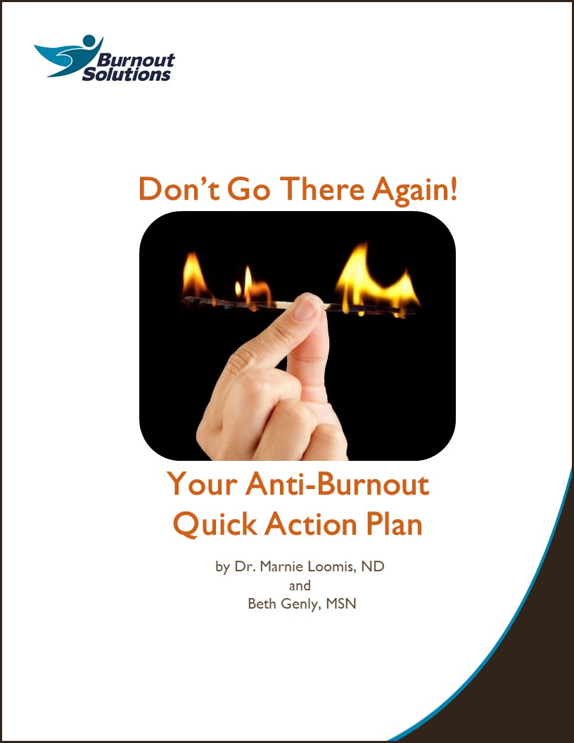 Anti-Burnout Quick Action Handbook: cover
