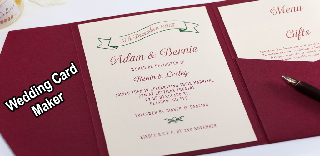 Download Wedding Invitation Card Maker 2019 Apk Latest