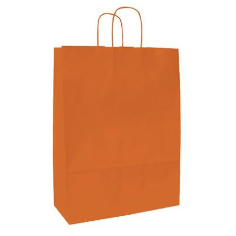 Spring Pappersbärkasse 250x110x240 Orange