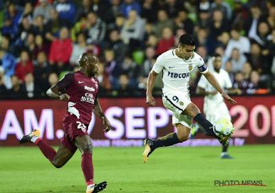 Monaco wint met 0-1 bij Metz