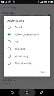 HD Call Recorder- screenshot thumbnail