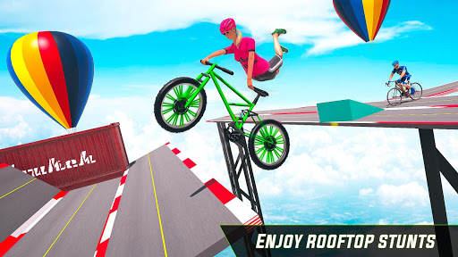BMX Cycle Stunt Game: Mega Ramp Bicycle Racing modavailable screenshots 8