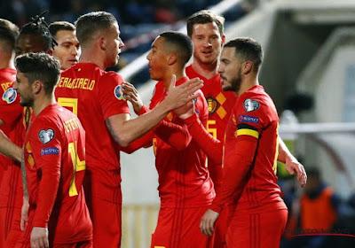 Eden Hazard rentre encore un peu plus dans l'histoire de l'équipe nationale